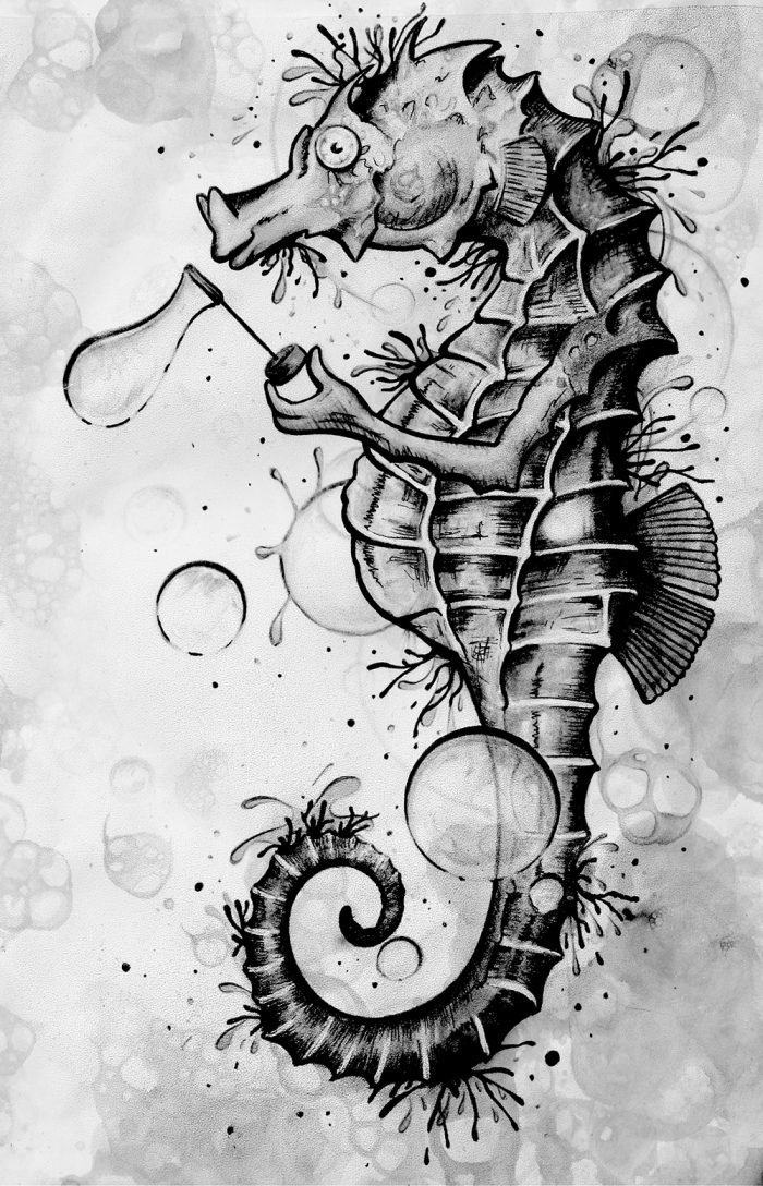 Aquarell tattoo konstanz zeichnung