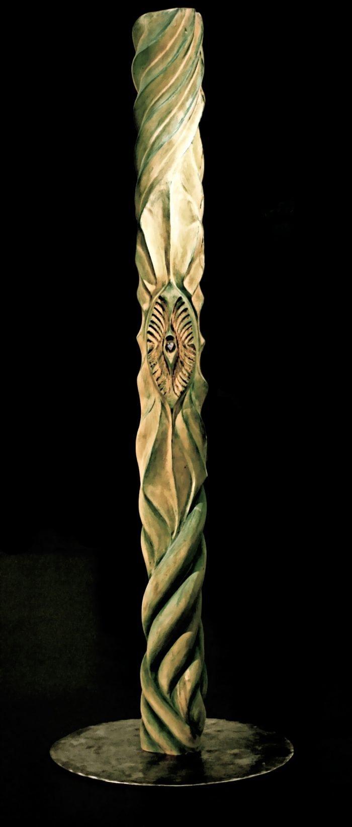 kunst konstanz artwork holzskulptur