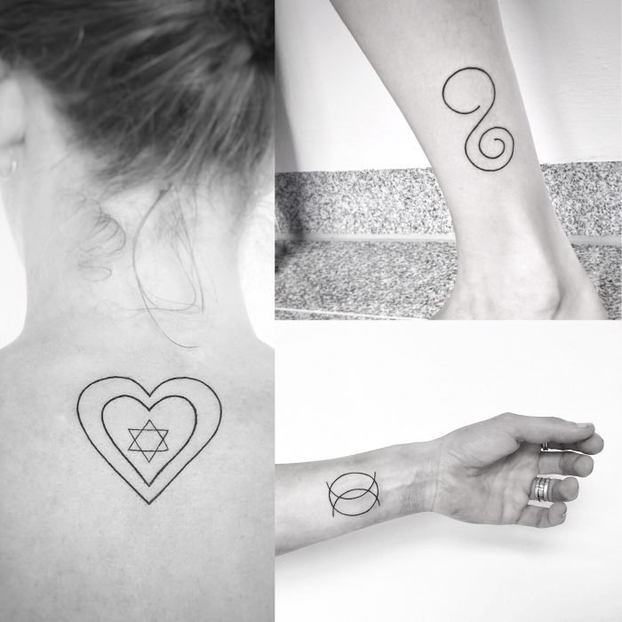 mini tattoo konstanz piixs linework blackwork