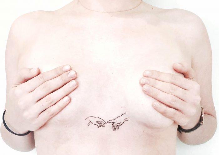 handpoked tattoo michelangelo konstanz bodensee
