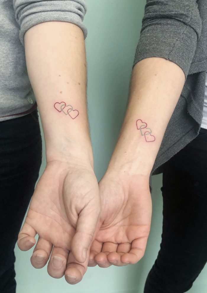 mini tattoo herzen konstanz bodensee