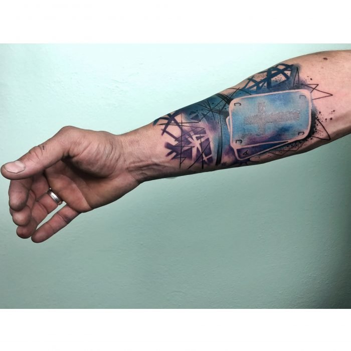 watercolor tattoo bodensee tattoostudio abstrakt abstract karten