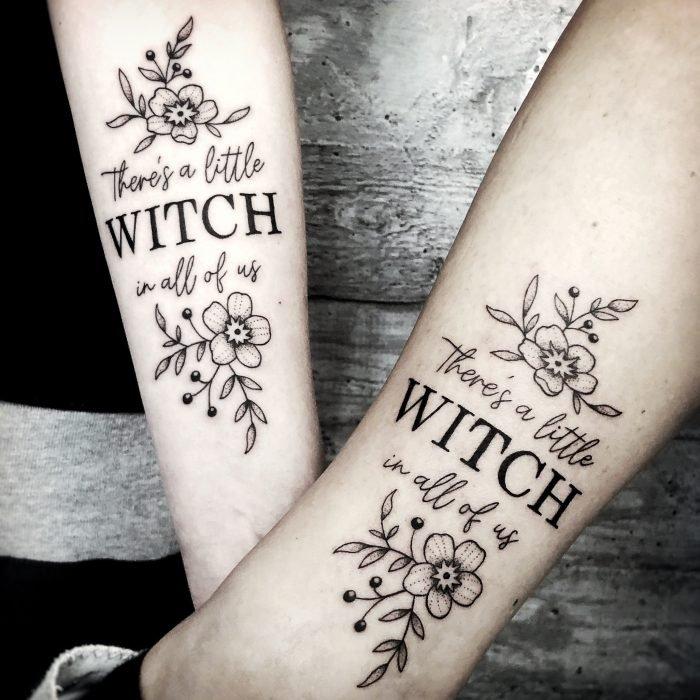 Linework font Freundschaftstattoo witch tattoostudio konstanz bodensee piixs