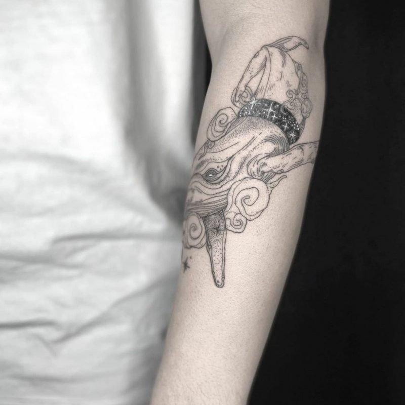 liza bodensee linework blackwork neo traditional tattoostudio tattoo Piixs konstanz