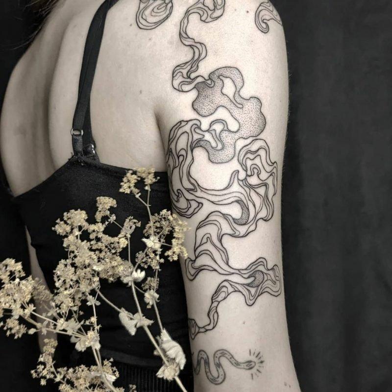 lizabodensee linework blackwork neo traditional tattoostudio tattoo konstanz piixs
