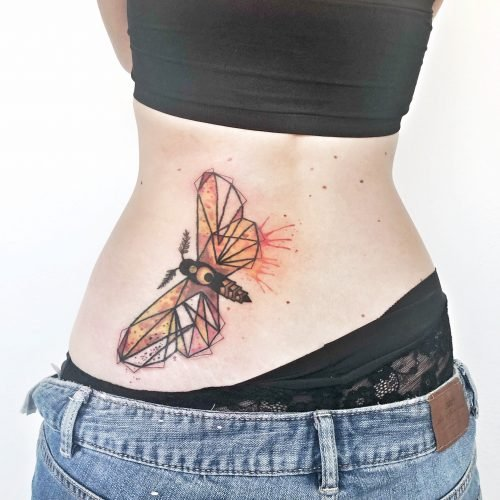 colour tattoo watercolor aquarell konstanz motte