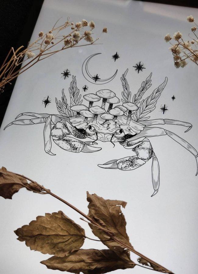 wanna do liza walking island konstanz tattoostudio piixs bodensee zürich linework blackwork engraving art dotwork blackworkers witchtattoo witch tattoo